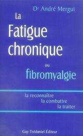 La fatigue chronique ou fibromyalgie - Intérieur - Format classique