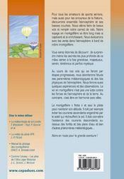 Meteorologie montgolfiere ; carnets de vol - 4ème de couverture - Format classique