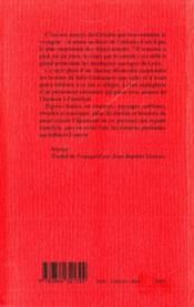 La rivière de l'oubli - 4ème de couverture - Format classique