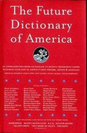 Future Dictionary of America - Couverture - Format classique