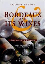 Bordeaux and its wines xviie edition (17e édition) - Couverture - Format classique