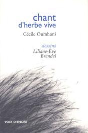 Chant d'herbe vive - Couverture - Format classique