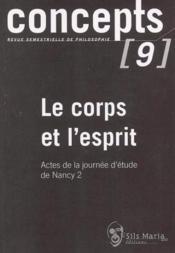 Concept t.9 ; le corps et l'esprit - Couverture - Format classique