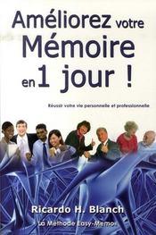 Améliorez votre mémoire en 1 jour ! - Intérieur - Format classique