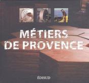 Métiers de Provence - Couverture - Format classique