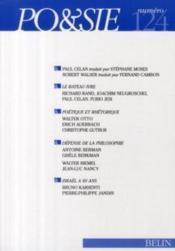 Revue Po&Sie N.124 - Couverture - Format classique