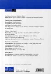 Revue Po&Sie N.124 - 4ème de couverture - Format classique
