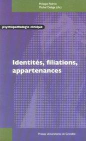 Identites filiations appartenances - Intérieur - Format classique