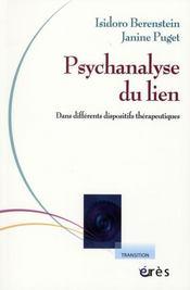 Psychanalyse du lien ; théorie et clinique - Intérieur - Format classique