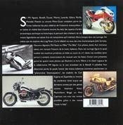 Motos Italiennes, 100 Ans D'Histoire - 4ème de couverture - Format classique