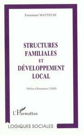 Structures Familiales Et Developpement Local - Intérieur - Format classique