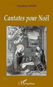 Cantates Pour Noel - Couverture - Format classique