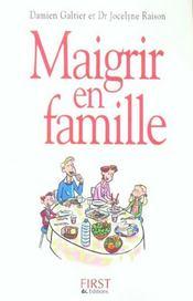 Maigrir En Famille - Intérieur - Format classique