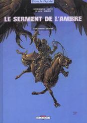 Le serment de l'ambre t.3 ; les barbares de Deire - Intérieur - Format classique