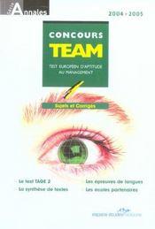 Concours Team 2005 - Intérieur - Format classique