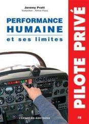 La performance humaine et ses limites - Couverture - Format classique