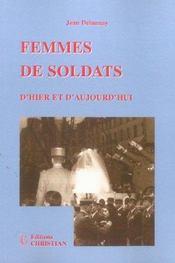 Femmes de soldats d'hier et d'aujourd'hui - Intérieur - Format classique