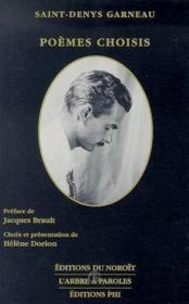 Poèmes choisis - Couverture - Format classique