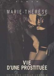 Vie d'une prostituee - Couverture - Format classique