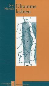 L'homme lesbien - Couverture - Format classique