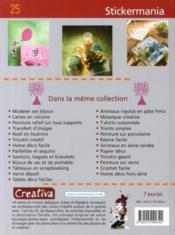 Creativa ; Stickermania - Couverture - Format classique