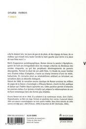 Roman (livre de Nycéphore) - 4ème de couverture - Format classique