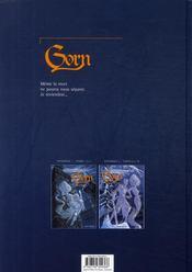 Gorn ; intégrale t.2 - 4ème de couverture - Format classique