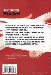 Destination Tokio Hotel ; Bill & Tom 4 ever !!! - 4ème de couverture - Format classique