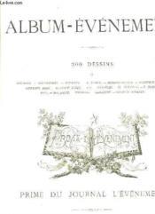 Album Evenement. Prime Du Journal L Evenement. - Couverture - Format classique