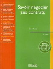 Savoir négocier ses contrats - Intérieur - Format classique