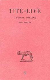 Histoire Romaine T31 L41-42 - Intérieur - Format classique