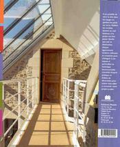 Les combles - 4ème de couverture - Format classique