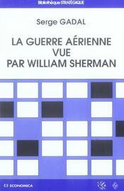 La guerre aerienne vue par william sherman - Intérieur - Format classique