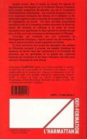 Développement cognitif et entreprise - 4ème de couverture - Format classique