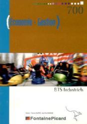 Economie gestion ; bts industriels - Couverture - Format classique