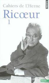 Cahiers de l'Herne Ricoeur t.1 - Intérieur - Format classique