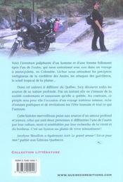 Voyage D'Homme Pour Un Desir De Femme - 4ème de couverture - Format classique