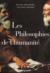Philosophies de l humanite - Intérieur - Format classique