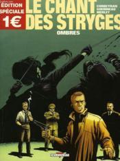 Le chant des stryges - saison 1 T.1 ; ombres - Couverture - Format classique