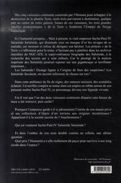Salsénide salsénide - 4ème de couverture - Format classique