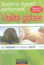 Vitalite Globale - Dr Mayr - Systeme Digestif - Intérieur - Format classique