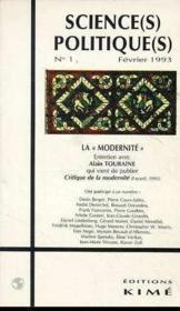 Sciences politiques t.1 ; Alain Tourane - Couverture - Format classique