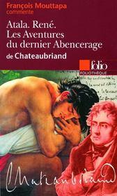 Atala ; René ; les aventures du dernier Abencerage, de Chateaubriand - Couverture - Format classique