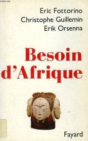 Besoin d'Afrique - Couverture - Format classique