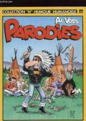 Al Voss Parodies N° 22 - Couverture - Format classique