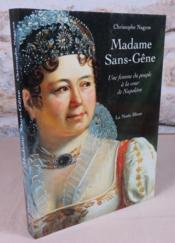Madame Sans-Gêne. Une femme du peuple à la cour de Napoléon. - Couverture - Format classique