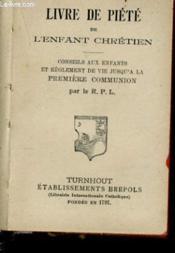 Livre De Piete De L'Enfant Chretien - Couverture - Format classique