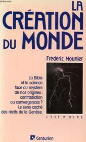 La Creation Du Monde - Couverture - Format classique