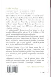 Italia magica - 4ème de couverture - Format classique