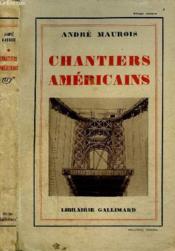 Chantiers Americains - Couverture - Format classique